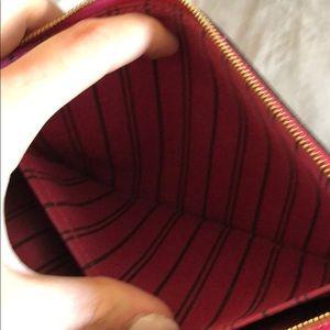 Louis Vuitton Bags - Louis Vuitton s wristlet pink lining torn piece bf6d764706cdc